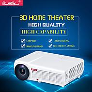 LED-96 LCD מקרן קולנוע ביתי WXGA (1280x800) 3000 LED 4:3 16:9 16:10