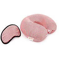 Máscara de Dormir Travesseiro de Viagem para Crianças Unisexo Descanso em Viagens Tecido-Roxo Café Verde Azul Rosa claro