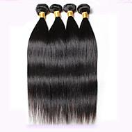 Az emberi haj sző Perui haj Ravno 18 hónap 4 darab haj sző