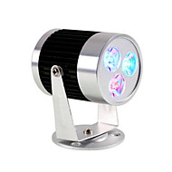 ac85-265v 9w RGB LED távirányító track lámpa