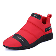 Men's Sneakers Spring Summer Fall Winter Comfort Microfibre PU Outdoor Office & Career Casual Athletic Party & Evening GoreBlack Red Navy