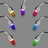 Современный Дождевая лейка Хром Особенность for  Светодиодная лампа / Дождевая лейка / Экологически чистый , Душевая головка