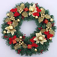 Jul krans guld ornament 50cm
