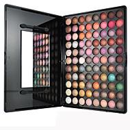 88 Paleta de Sombras Secos Paleta da sombra Pó Pressionado Normal Maquiagem para o Dia A Dia