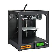 impressora 3d geeetech mecreator 2 ambiente de trabalho de ultra alta precisão da folha de metal com bocal de 0,4 / 1,75