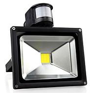 30w 3300lm AC85-265V 높은 전력 인체 유도 프로젝션 램프를 주도