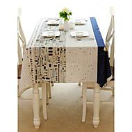 Rectangulaire Avec motifs Nappes de table , Coton mélangé Matériel Hôtel Dining Table / Tableau Dceoration
