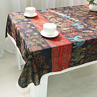 Carré Avec motifs Nappes de table , Coton mélangé Matériel Hôtel Dining Table / Tableau Dceoration