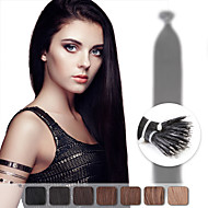 neitsi 20 '' 50g / lot g / s nano ring lus tip remy human hair extensions straight