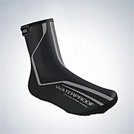 ניילון עבור נעליים ערדליים M L שחור windproof חם עמיד למים אופניים