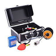 30M Fish Finder1000TVL Underwater fishing Stainless Steel Camera 7 Monitor DVR Video Recording Light Control