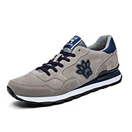 Men's Athletic Shoes Spring / Summer / Fall / Winter Comfort Suede Athletic Blue / Gray Running / Sneaker