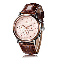 Men's Dress Watch / Wrist watch / Mechanical Watch Automatic self-winding Calendar / Water Resistant/Water Proof / Shock Resistant Leather