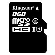 classe kingston 10 8gb cartão de memória microSDHC tf com adaptador de cartão SD