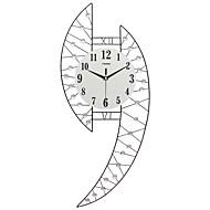 Moderne/Contemporain Niches Horloge murale,Autres Acrylique / Verre / Métal 71*31CM Intérieur Horloge