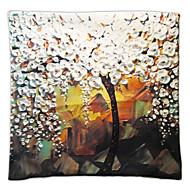 The 3D Flower Trees Painting Style Series Of Three-dimensional Pattern Painting Style Cloth Pillow No. 5 Fillow Cover