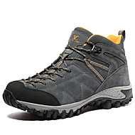 Men's Athletic Shoes Winter Comfort Leather Outdoor Office & Career Casual Flat Heel Others Gray Navy Khaki Hiking