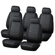 autoyouth 15pcs van housses de siège airbag 5mm compatible mousse universels 5x sièges biplaces accessoires intérieurs checkered