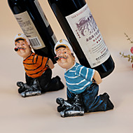 Viinitelineet Puu,13*9*17.5CM viini Lisätarvikkeet