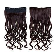 Extensions de cheveux humains Synthétique 120 24 Extension des cheveux