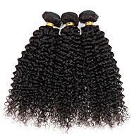 Alimice 7A Unprocessed Natural Brazilian Kinky Curly Virgin Hair Products 3 Pcs Afro Kinky Human Hair Extension Weave Bundles
