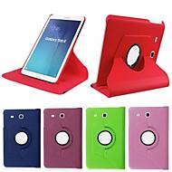 のために Samsung Galaxy ケース スタンド付き / フリップ / 360°ローテーション ケース フルボディー ケース ソリッドカラー PUレザー SamsungTab 4 10.1 / Tab 4 8.0 / Tab 3 7.0 / Tab 3 8.0 /