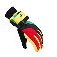 Ski-Handschuhe Vollfinger Unisex Sporthandschuhe warm halten Atmungsaktiv Skifahren Freizeit Sport Nylon Winterhandschuhe Herbst Winter