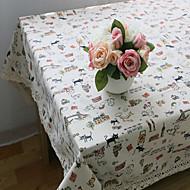 obdélníkový Se vzorem / Zvíře Prostírání , Směs bavlny Materiál Hotel Jídelní stůl / Tabulka Dceoration