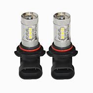 9006 80W vodio svjetlo za maglu 9006 CANbus vodio svjetlo za maglu koristeći za VW fokusu Corolla juke a3 a4 a6 a6l