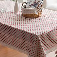 Carré Toile Nappes de table , Lin Matériel Hôtel Dining Table / Tableau Dceoration / Déco d'Intérieur