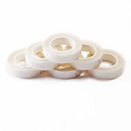 neitsi 2 rolos de fita cola super-branco para extensões de cabelo dupla face