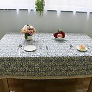 Carré Fleur Nappes de table , Lin MatérielHôtel Dining Table / Wedding Banquet / Tableau Dceoration / Dîner Décor Favor / Déco