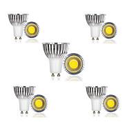 3W E14 / GU10 / GU5.3 / B22 / E26/E27 Lâmpadas de Foco de LED 1 COB 300 lm Branco Quente / Branco Frio / Branco Natural AC 85-265 V 10 pçs