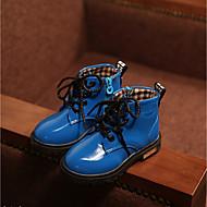 Boy's Boots Spring Fall Winter Comfort Customized Materials Casual Flat Heel Blue