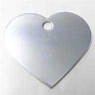 gepersonaliseerde geanodiseerd aluminium dog id naamplaatje voor huisdier (verschillende kleuren)