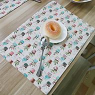 obdélníkový Grafika Prostírání , Směs bavlny Materiál Hotel Jídelní stůl / Tabulka Dceoration
