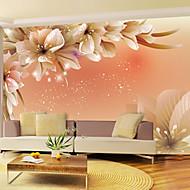 Fleur Fond d'écran pour la maison Contemporain Revêtement , Vinyle Matériel adhésif requis Mural , Couvre Mur Chambre