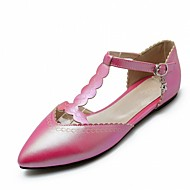 Women's Flats Spring Summer Fall Comfort Novelty Patent Leather Leatherette Wedding Office & Career Dress Casual Party & Evening Flat Heel