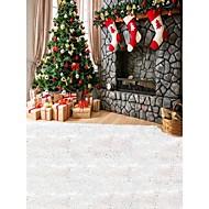 תמונת רקע christmastree תפאורות צילום בסטודיו 5x7ft