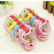 Girl's Baby Sandals Comfort Canvas Casual Blue Pink