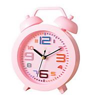 Moderne/Contemporain / Traditionnel / Décontracté Vacances / Anniversaire Horloge murale,Rond Métal / Plastique Intérieur Horloge