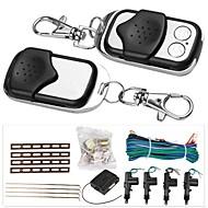 2/4 dør fjernbetjening nøglefri adgang centrallås låsning kit