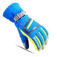 Luvas de esqui Dedo Total Todos Luvas Esportivas Manter Quente Respirável Esqui Esportes Relaxantes AlgodãoLuvas de Inverno Luvas de
