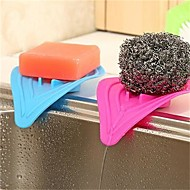 1pcs 14cm * 8cm éponges à usages multiples cuisine créative et salle de bains en forme de l'engorgement causé par le dispositif de