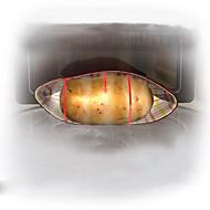 """aardappel uitdrukkelijke magnetron aardappel fornuis, polypropyleen 9.6 """"x7.6"""" x0.4 """""""
