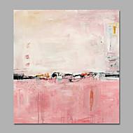Pintados à mão Abstrato / Vida Imóvel Pinturas a óleo,Moderno 1 Painel Tela Pintura a Óleo For Decoração para casa