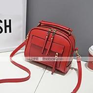 M.Plus® Women's Fashion Solid PU Leather Shoulder Messenger Bag