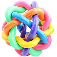 Kattenspeeltje Hondenspeeltje Huisdierspeeltjes Bal Piepend Speelgoed piepen Duurzaam Meerkleurig Rubber