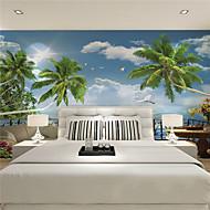 Art Deco / 3D Wallpaper Otthoni Kortárs Falburkolat , Vászon Anyag ragasztószükséglet Falfestmény , szoba Falburkoló