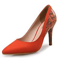 Homme-Mariage / Habillé / Soirée & Evénement-Amande / Orange / Pêche-Talon Aiguille-Others / Nouveauté-Chaussures à Talons-Cuir /